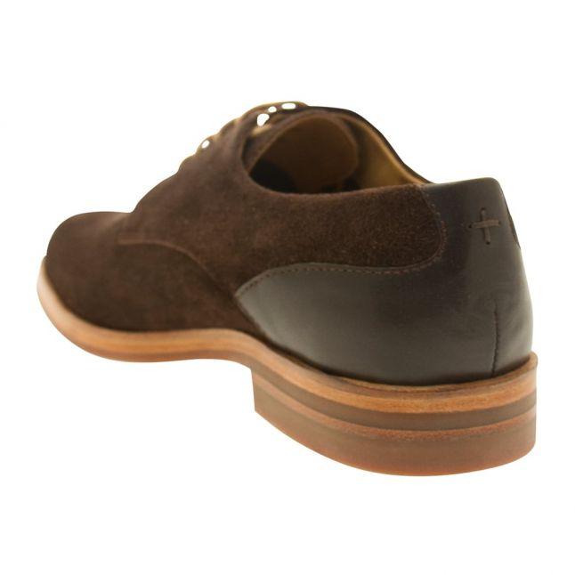 Mens Brown Enrico Suede Shoe