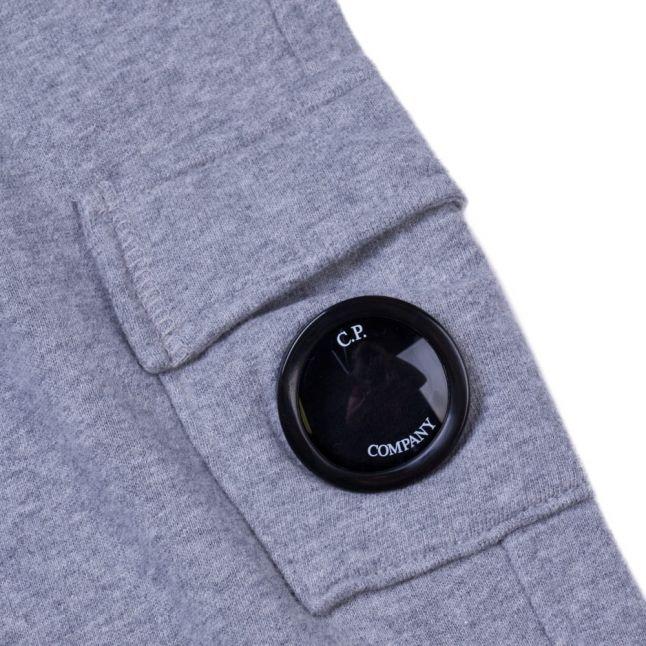 Boys Grey Melange Portal Pocket Jog Pants