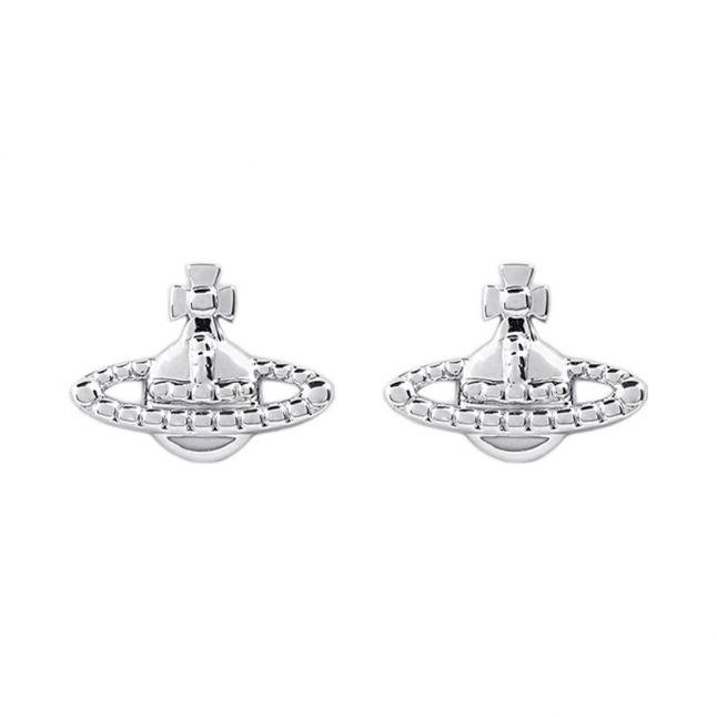 Womens Rhodium Farah Earrings
