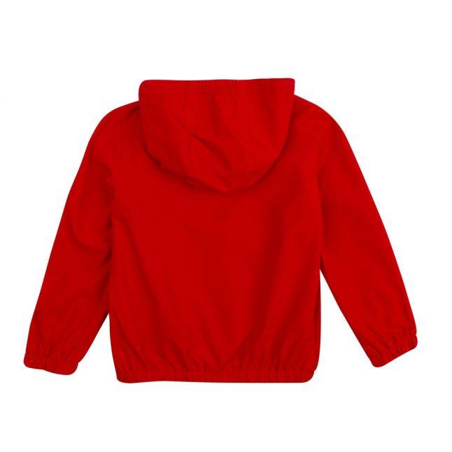 Boys Bright Red Branded Windbreaker