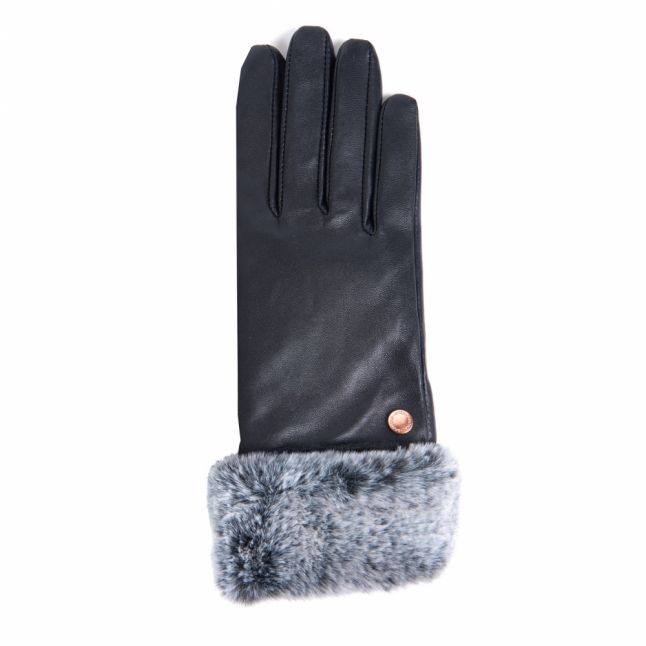 International Womens Black Kirk Leather Gloves