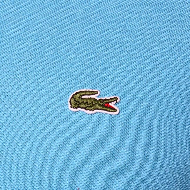 Mens Blue Classic L.12.12 S/s Polo Shirt