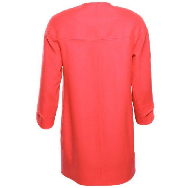 Womens Orange Colete Coat