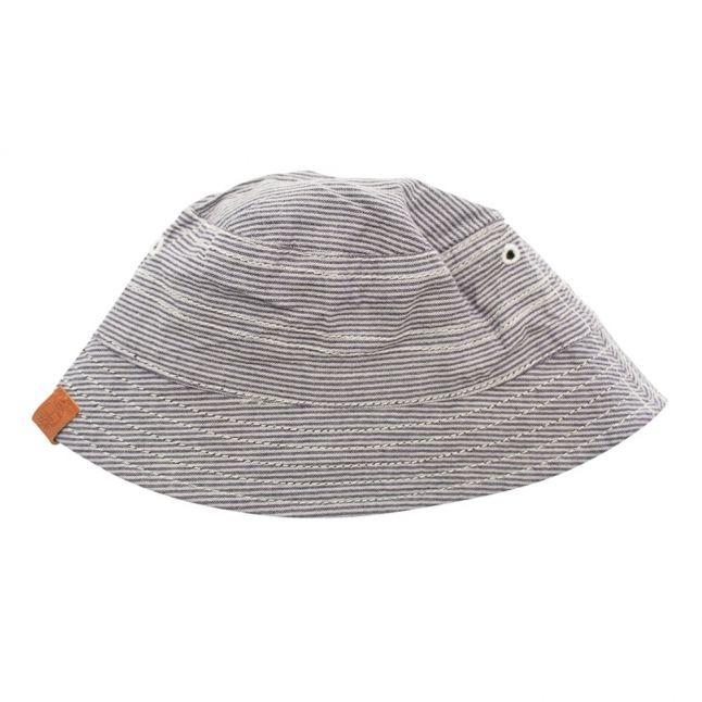 Baby Blue Indigo Reversible Hat