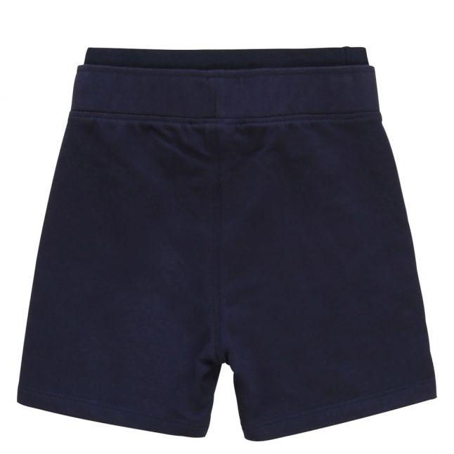 Toddler Navy Logo Waistband Sweat Shorts