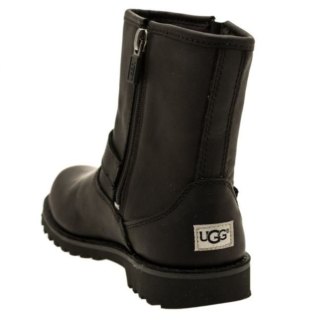 Kids Black Harwell Boots (12-3)