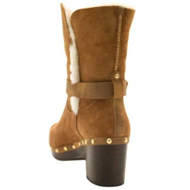 Womens Chestnut Brea Boots