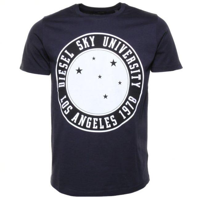 Mens Navy T- Joe- A S/s Tee Shirt