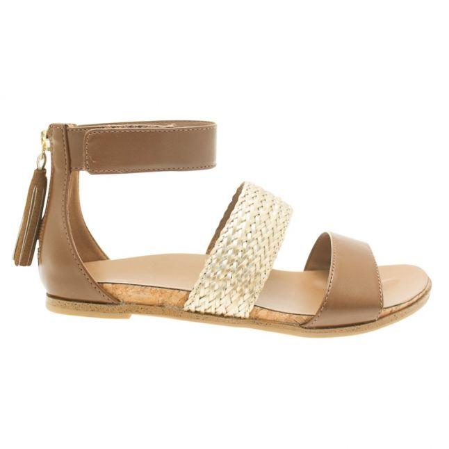 Kids Chestnut Marabel Metallic Sandals