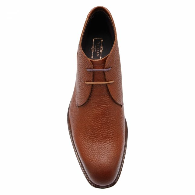 Mens Tan Corans Ankle Boots