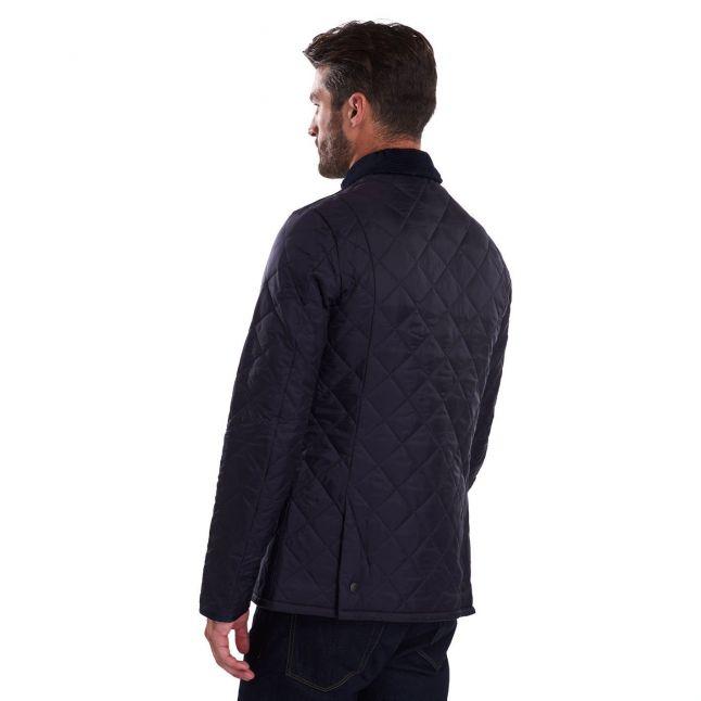 Mens Navy Heritage Liddesdale Quilted Jacket