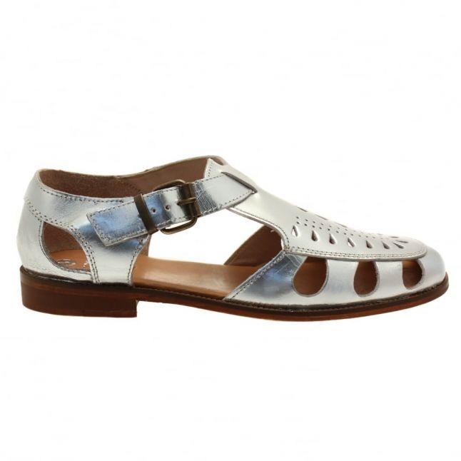 Hudson Womens Silver Sherbert Sandals