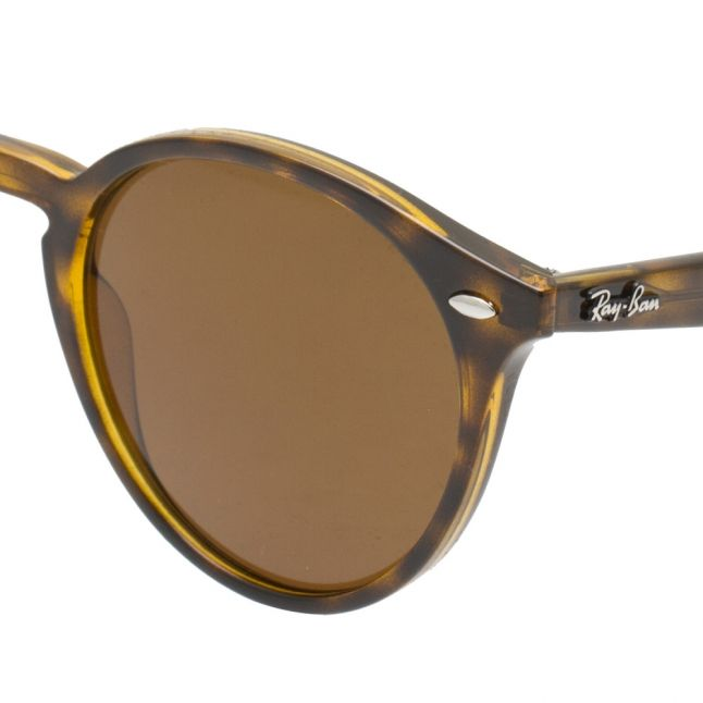 Dark Havana RB2180 Round Frame Sunglasses