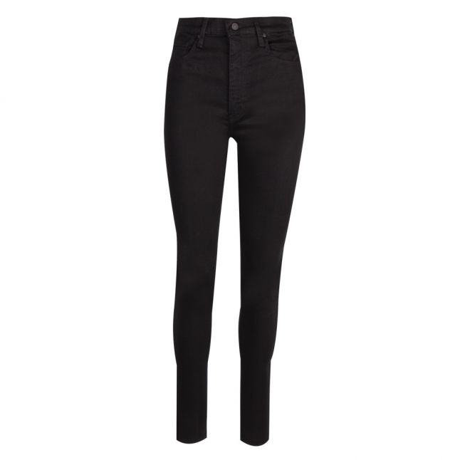 Womens Black Galaxy Mile High Super Skinny Fit Jeans