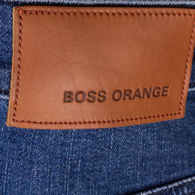 Mens Bright Blue Orange72 Skinny Fit Jeans