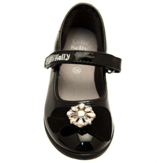 Girls Black Linda Shoes (24-35)