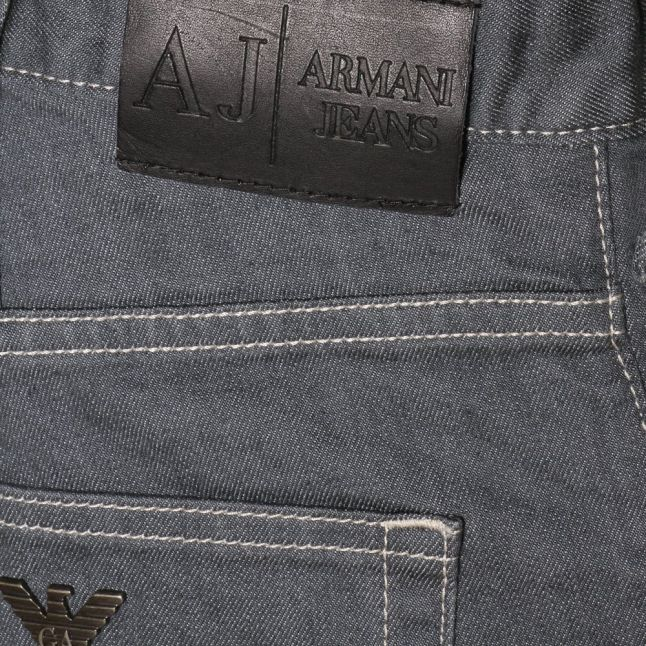 Mens Grey Wash J21 Regular Fit Jeans