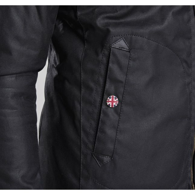 Mens Black Legion Waxed Jacket