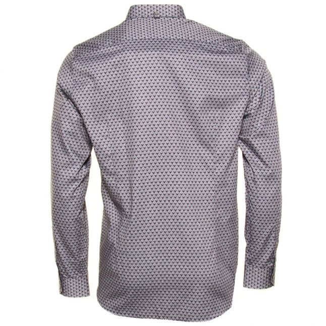 Mens Navy Lolfest Diamond L/s Shirt