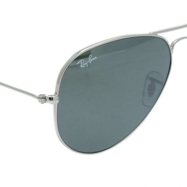 Silver Mirror RB3025 Aviator Large Sunglasses