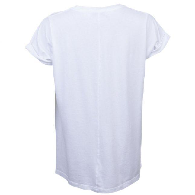 Womens Clean White Woof Weekend S/s Tee Shirt