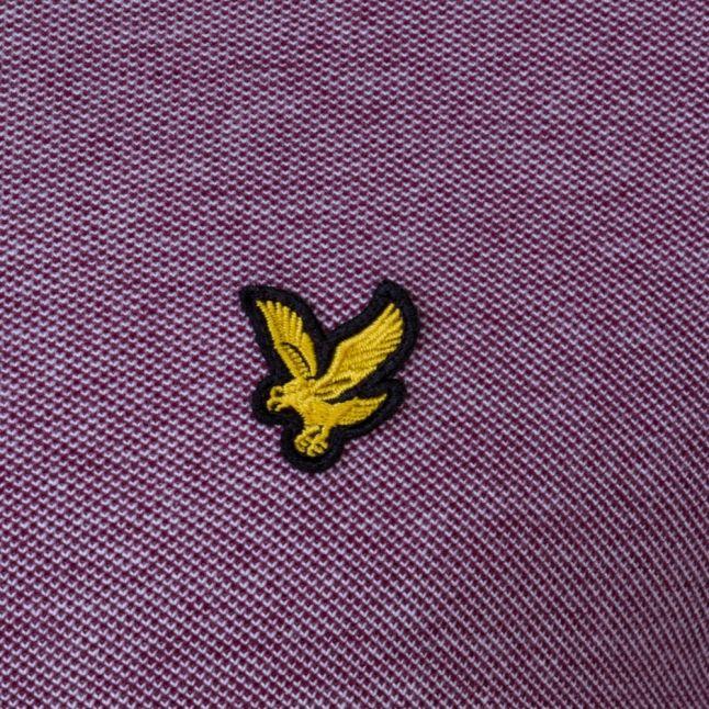Mens Claret Jug Oxford S/s Polo Shirt