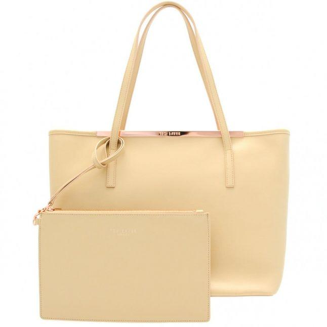 Womens Mink Isbell Crosshatch Shopper Bag & Purse