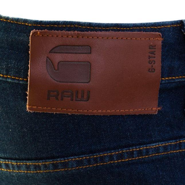 Mens Medium Aged Wash 3301 Slim Fit Jeans
