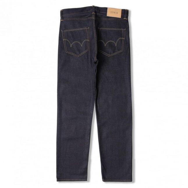 Mens Deep Blue ED80 Slim Tapered Jeans