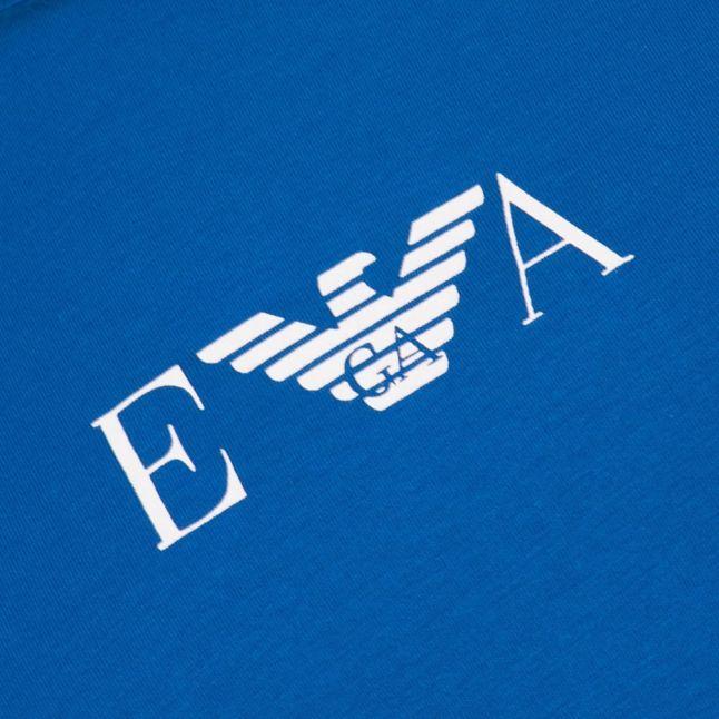 Mens Bright Blue Basic Stretch Tee Shirt