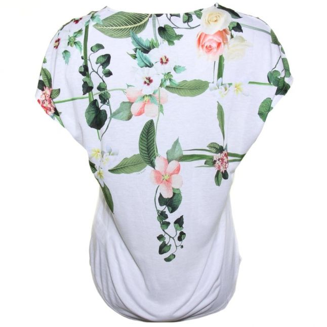 Womens Cream Ina Secret Trellis S/s Tee Shirt