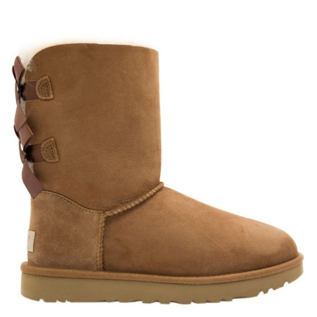 Womens Chestnut Bailey Bow II Boots
