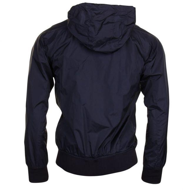 Mens Black Nylon Jacket