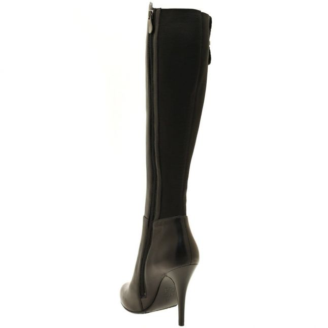 Womens Black Visa Long Boots