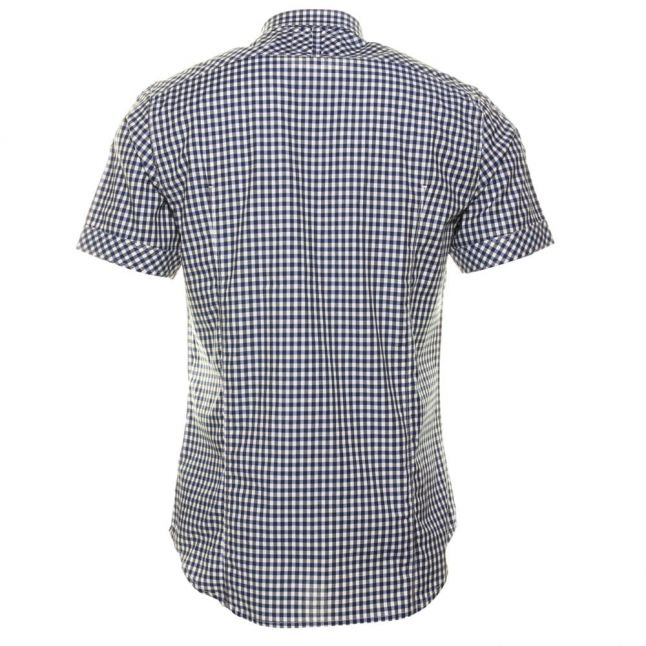 Mens Milk & Husdson Arc 3D Check S/s Shirt