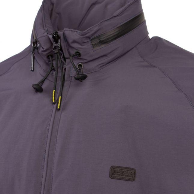 Mens Dusk Grey Illford Hooded Jacket