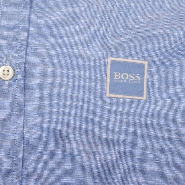 Casual Mens Blue Mabsoot_1 L/s Shirt