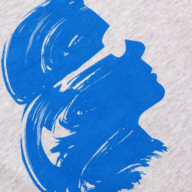 Karl Lagerfeld Boys Grey Heather Print S/s Tee Shirt
