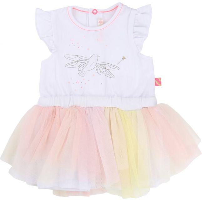 Baby White Bird Tutu Dress