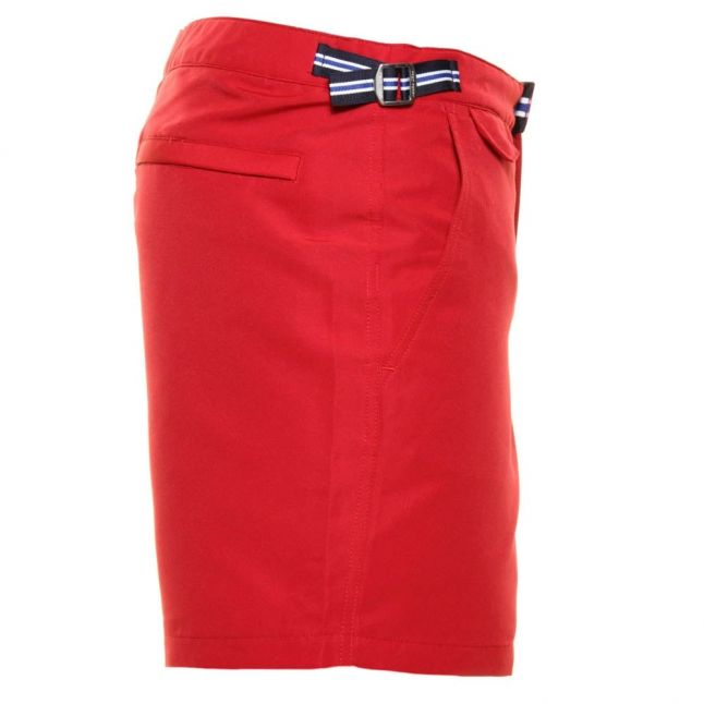 Mens Deep Red Classic Swim Shorts