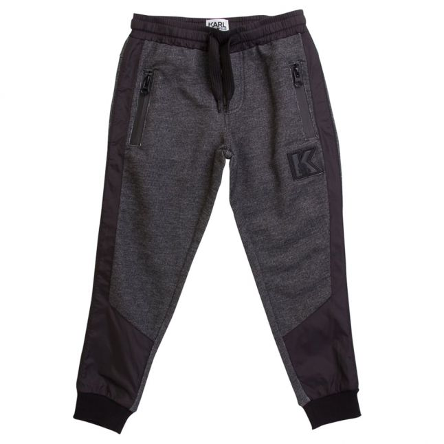 Karl Lagerfeld Boys Black Grey Sweat Pants
