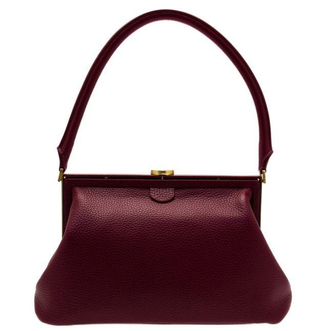 Womens Cassis Tabitha Leather Medium Shoulder Bag