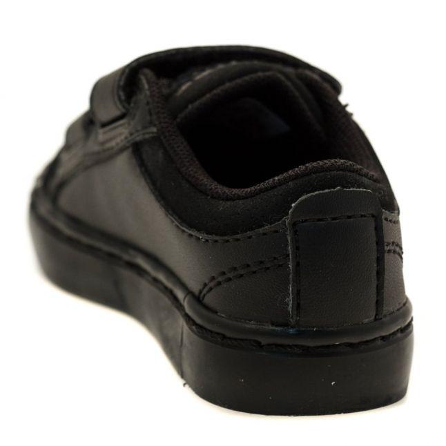 Infant Black Straightset Trainers (3-9)