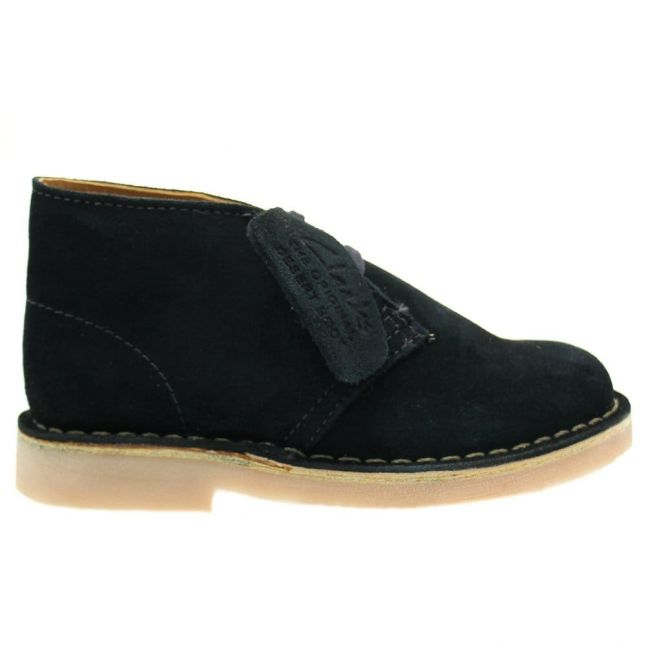 Infant Blue Suede Desert Boot (8-12)