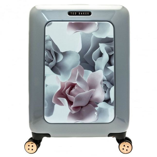 Womens Porcelain Rose Printed Small Hardside Suitcase