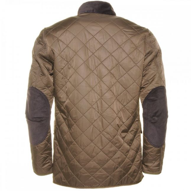 Mens Olive Papillon Quilted Jacket