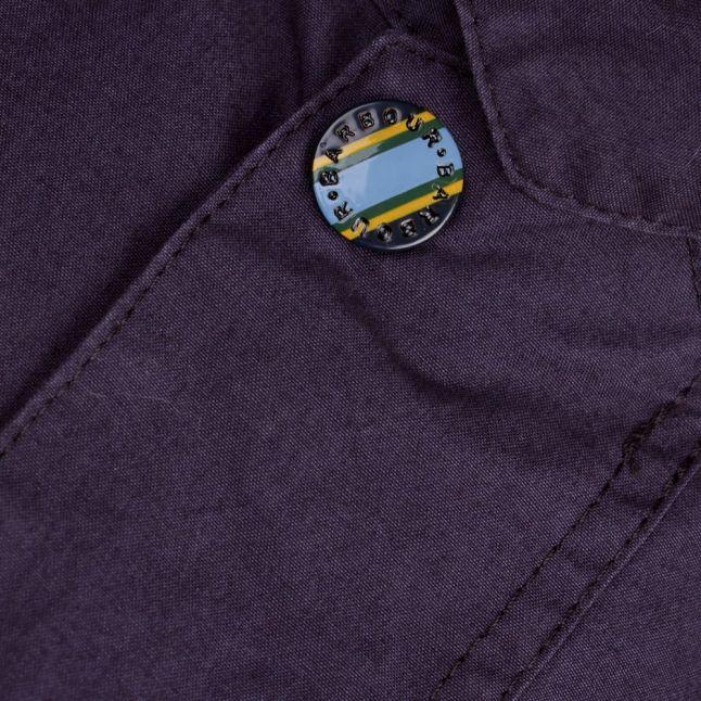 Heritage Mens Navy Washed Bedale Jacket