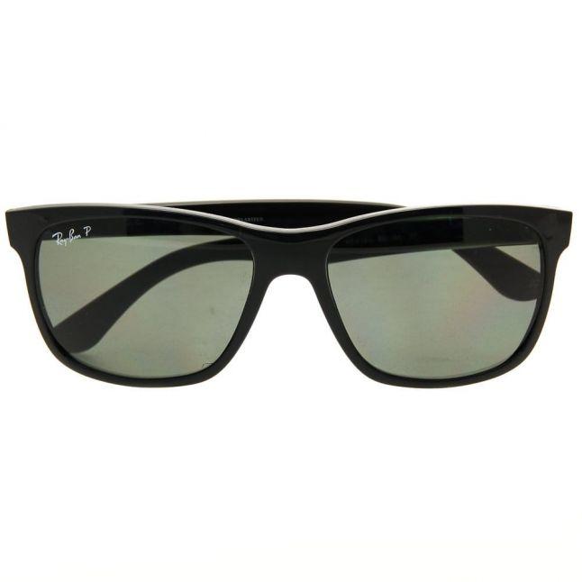 Black RB4181 Polarized Sunglasses