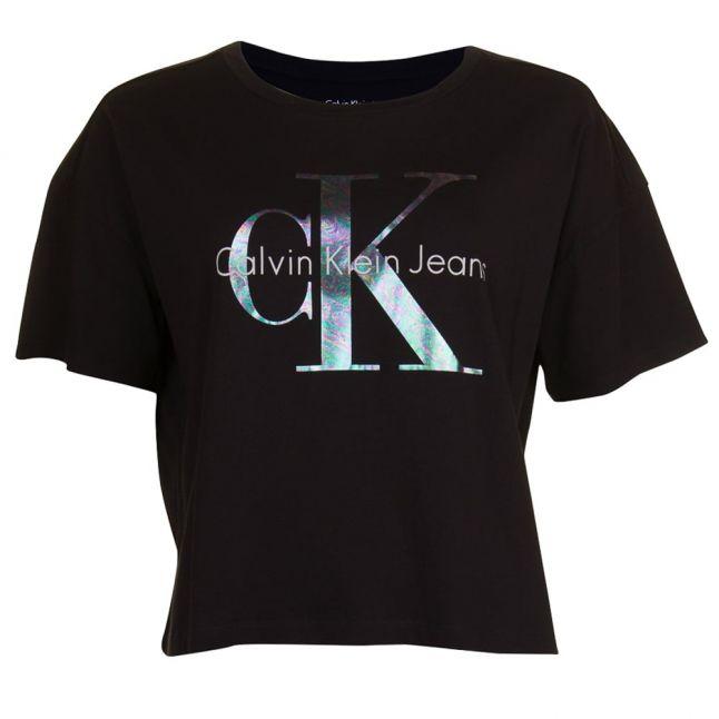 Womens Black Teca-17 True Icon S/s Tee Shirt