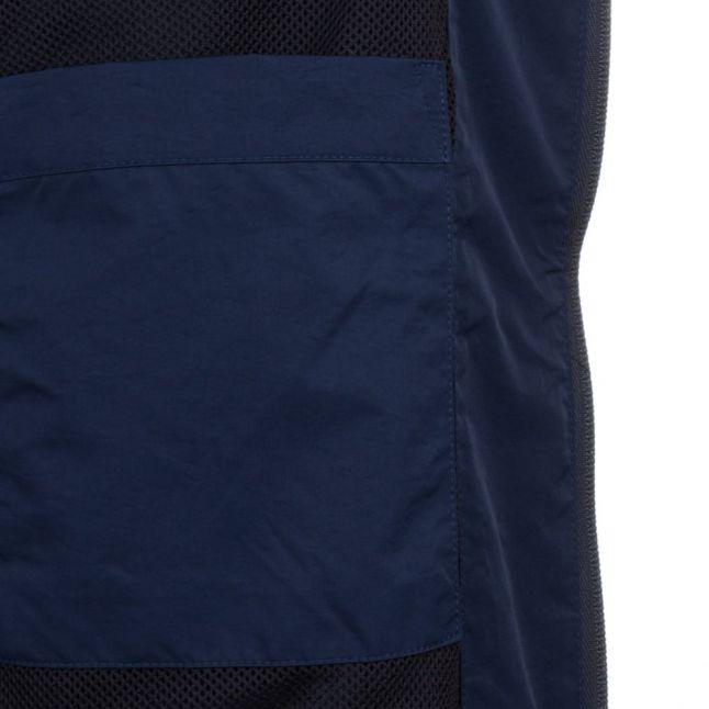 Mens Dark Sapphire Hooded Ratner Jacket